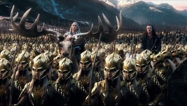 el hobbit la batalla de los cinco ejércitos - mivideoteca
